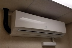 Air Base Ductless HVAC Interior