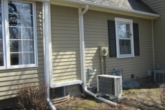 Ductless HVAC Residential Installation, Exterior