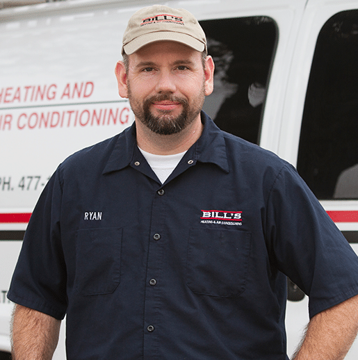 Ryan with Bill's Heating & Air Conditioning, 526 Garfield, Lincoln, NE 68502