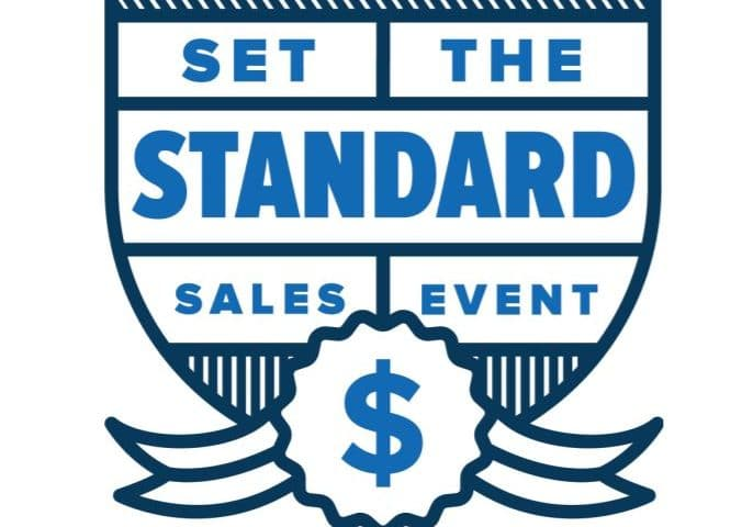 American Standard's Set the standard sales event.
