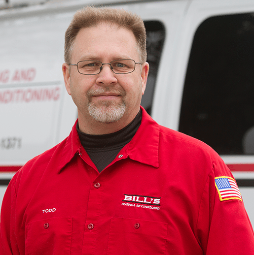 Todd owner of Bill's Heating & Air Conditioning, 526 Garfield, Lincoln, NE 68502