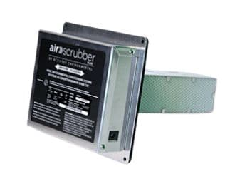 Air Scrubber eliminates 99% of viruses on your home's surfaces and 90% in the air.
